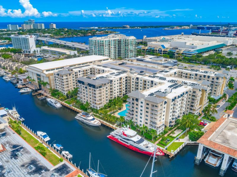 TGM Harbor Beach Apartment Aerial View