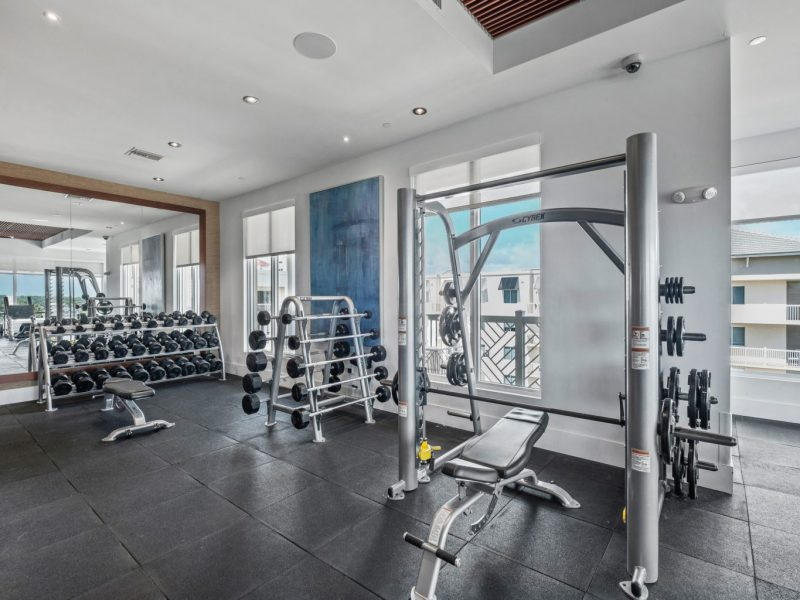 TGM Harbor Beach Apartment Fitness Gym 2