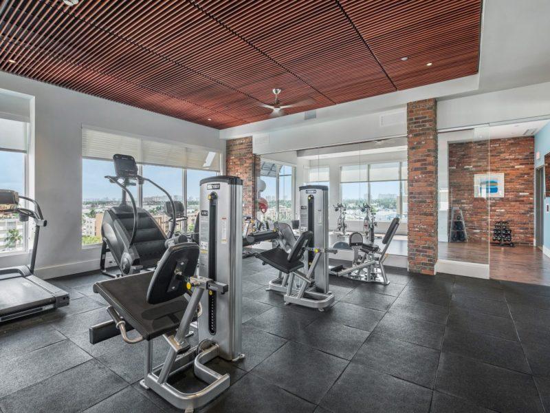 TGM Harbor Beach Apartment Fitness Gym 3