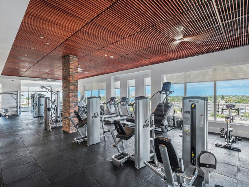 TGM Harbor Beach Apartment Fitness Gym 8