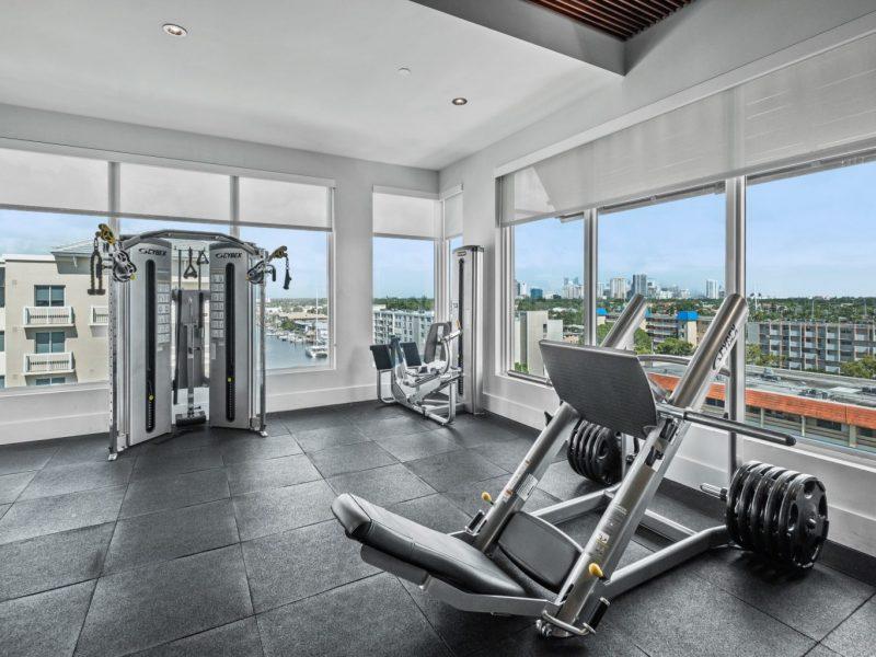 TGM Harbor Beach Apartment Fitness Gym