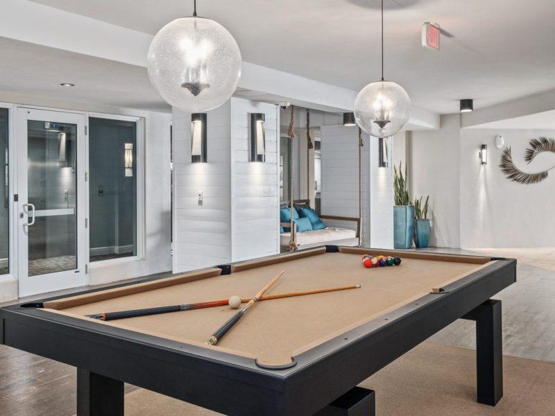 TGM Harbor Beach Apartment Indoor Billiard 2