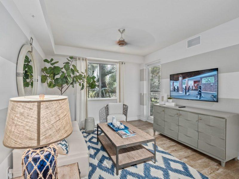TGM Harbor Beach Apartment Living Room 4